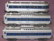 2412, 2412 & 2416 Santa Fe Passenger Set (6)