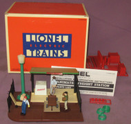 12818 Animated Freight Station (9/OB)