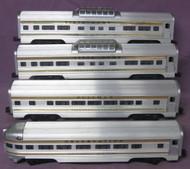 2521, 2522. 2522 & 2523 Gold Stripe Passenger Set (Var)