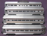 2541, 2542, 2543 & 2544 Pennsylvania Passenger Set (6+)