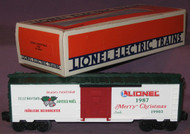 19903 Christmas Box Car: 1987 (10/OB)