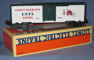 19938 Christmas Box Car: 1995 (9/OB)
