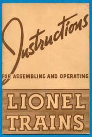 1940 Instructions For Assembling and Operating Lionel Trains (7)