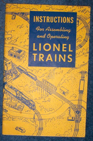 1948 Instructions For Assembling and Operating Lionel Trains (8)