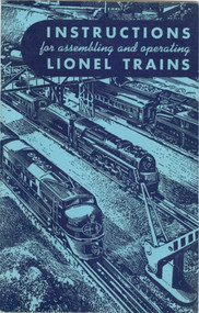 1949 Instructions For Assembling and Operating Lionel Trains (8)