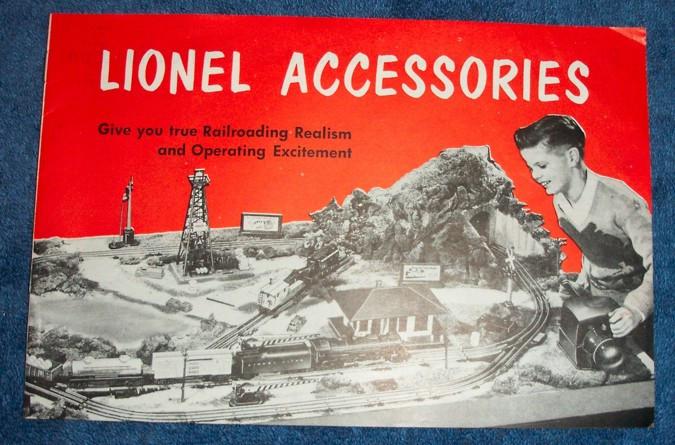1953 Lionel Accessories Catalogue 7