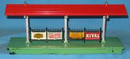 156 Platform Station; Baby Ruth, Rival, Lionel Chem Labs & Sunoco DynaFuel (6)