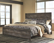 Wynnlow Gray King Panel Bed