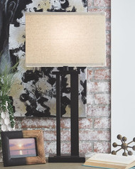 Ashley Aniela Bronze Finish Metal Table Lamp