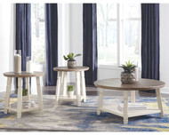 Ashley Bolanbrook Two-tone Occasional Table Set (3/CN)