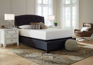 Sierra Sleep Chime 12 Inch Memory Foam White California King Mattress