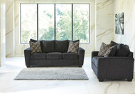 Ashley Wixon Slate Sofa/Couch & Loveseat