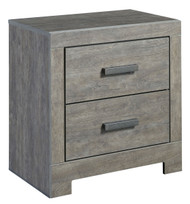 Ashley Culverbach Gray Two Drawer Night Stand