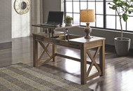 Ashley Aldwin Gray Home Office Lift Top Desk