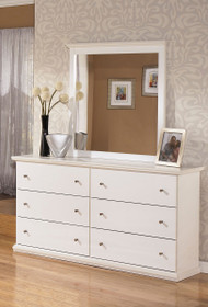Ashley Bostwick Shoals White Dresser