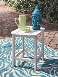 Ashley Sundown Treasure White Rectangular End Table