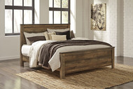 Ashley Trinell King Panel Bed