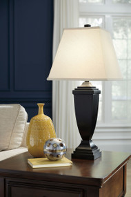 Ashley Amerigin Bronze Finish Poly Table Lamp