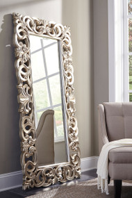 Ashley Lucia Antique Silver Finish Accent Mirror