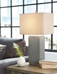 Ashley Amergin Grain Poly Table Lamp