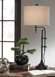 Ashley Anemoon Black Metal Table Lamp