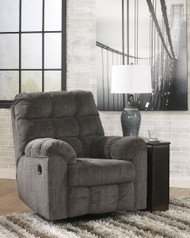 Ashley Acieona Slate Swivel Rocker Recliner