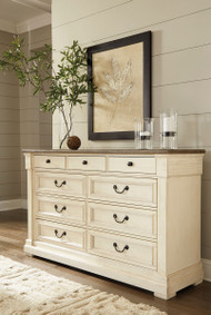 Ashley Bolanburg Two-tone Dresser