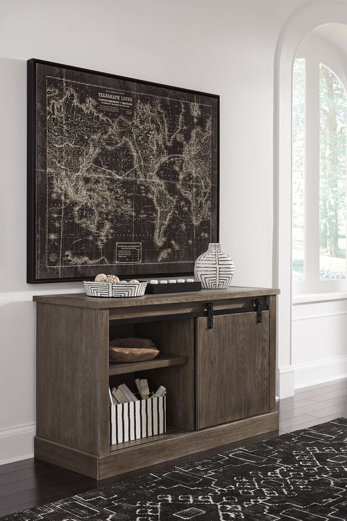 Ashley Luxenford Grayish Brown Large Credenza On Sale At