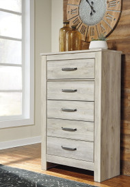 Ashley Bellaby Whitewash Five Drawer Chest