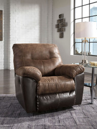 Follett Coffee Rocker Recliner