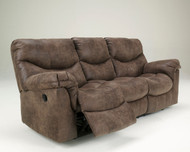 Ashley Alzena Gunsmoke Reclining Sofa/Couch