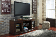 Ashley Chanceen Dark Brown Medium TV Stand/Fireplace Option