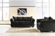 Ashley Darcy Black Sofa/Couch & Loveseat