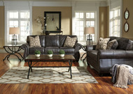 Ashley Breville Charcoal Sofa/Couch & Loveseat