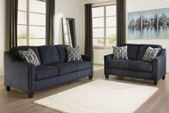 Ashley Creeal Heights Ink Sofa/Couch & Loveseat