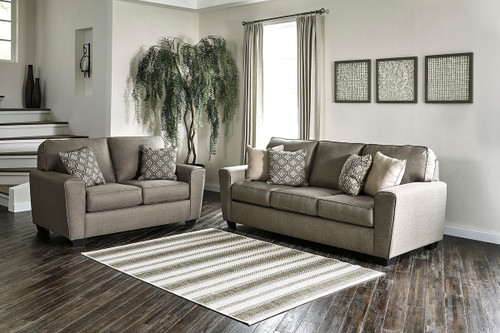 Ashley Calicho Cashmere Sofa Couch Amp Loveseat On Sale At