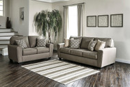 Ashley Calicho Cashmere Sofa/Couch & Loveseat
