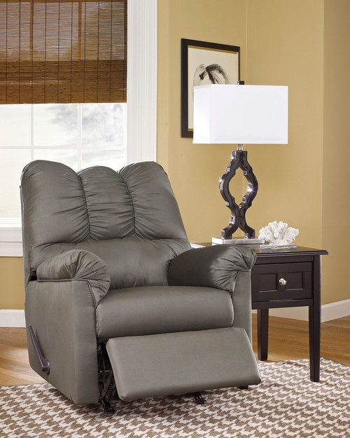 Ashley Darcy Cobblestone Rocker Recliner On Sale At