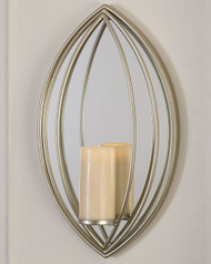 Ashley Donnica Silver Finish Wall Sconce