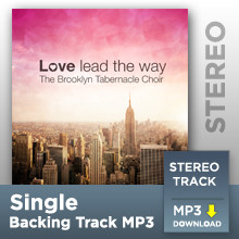 I Won't Go Back (Stereo Track MP3)