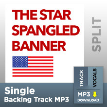 The Star Spangled Banner (Single Split Track MP3)