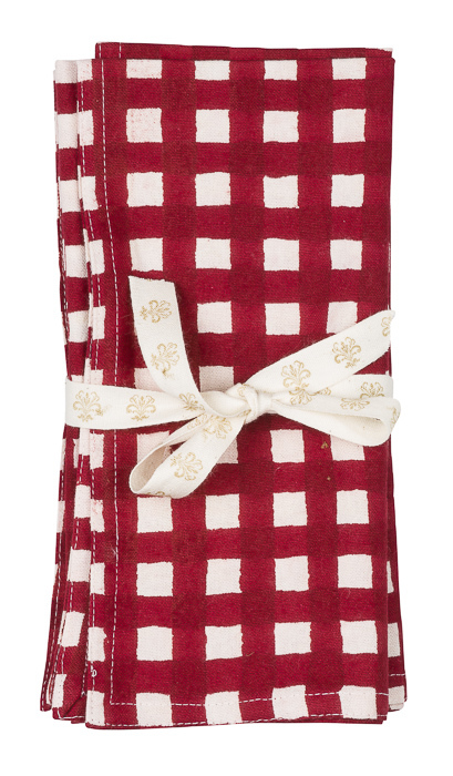 Chamois Red Napkin