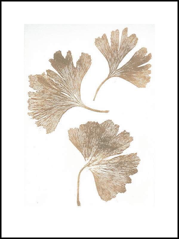Ginkgo Gold Pernille Print