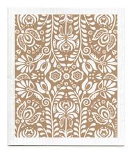 Swedish dishcloth Scandi Bloom Sand