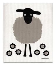 Jangneus Swedish dishcloth, Black Sheep, 100% biodegradable