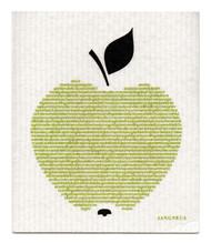Jangneus Swedish dishcloth, Big Apple, 100% biodegradable