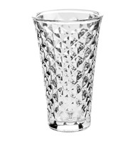 Tealight Facet - Tall - Clear