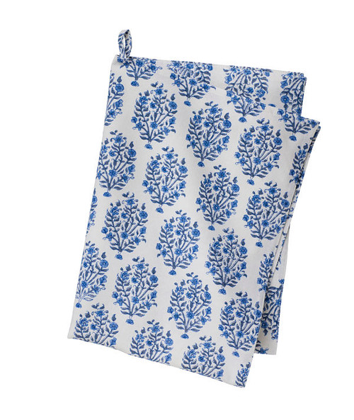 Colorful Cotton Kitchen Towel - Jasna - Blue