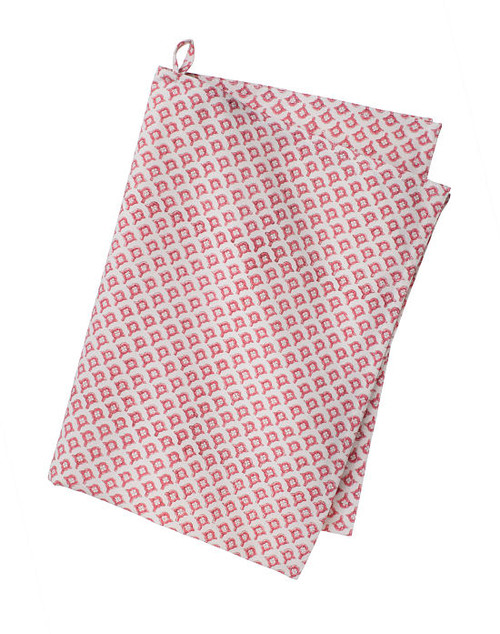 Colorful Cotton Kitchen Towel - Meena - Rose