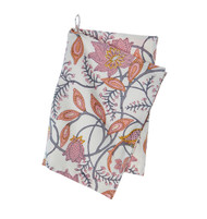Colorful Cotton Kitchen Towel - Phulphul - Grey Nude